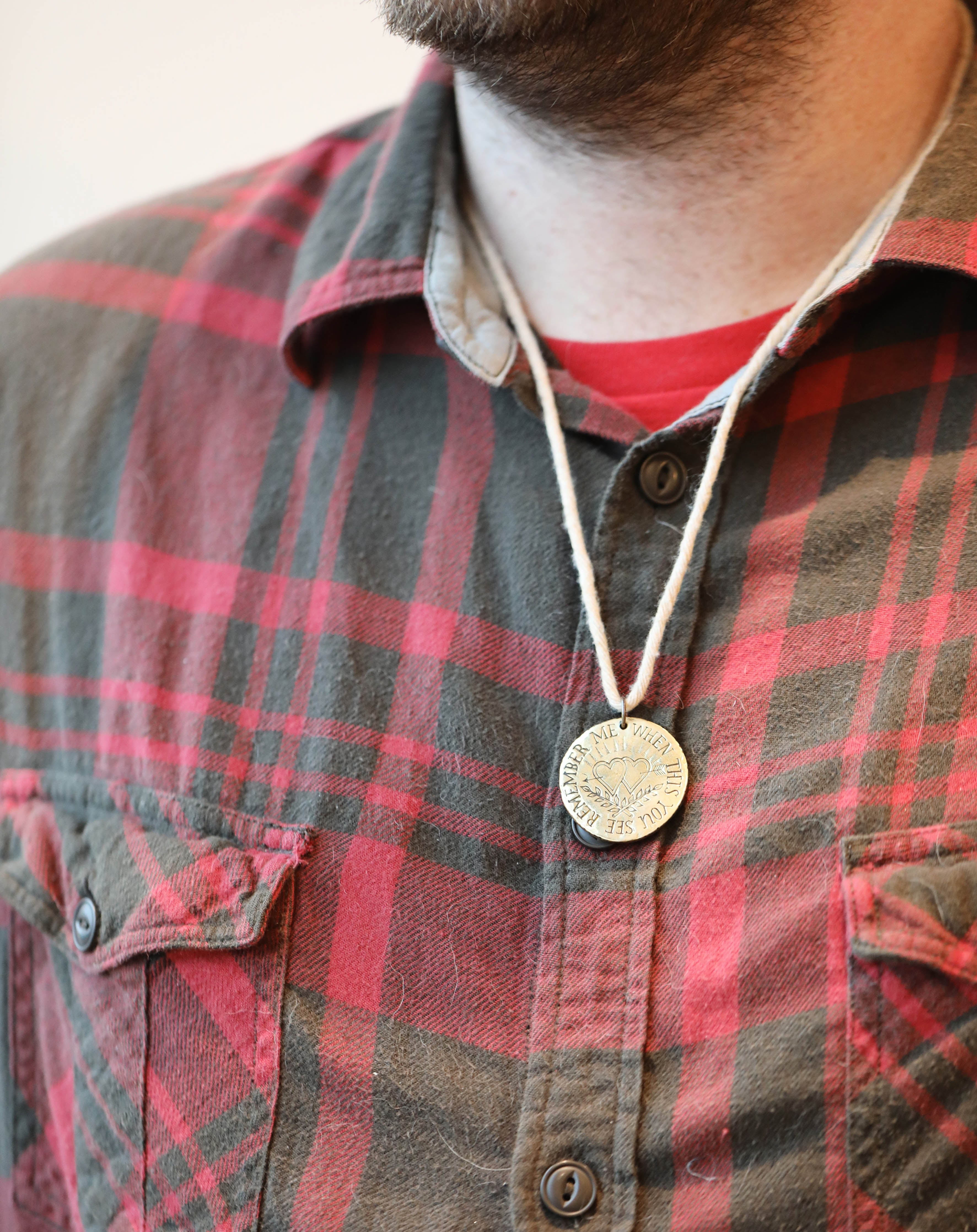 Convict Love Token Necklace (Ready-to-Ship)