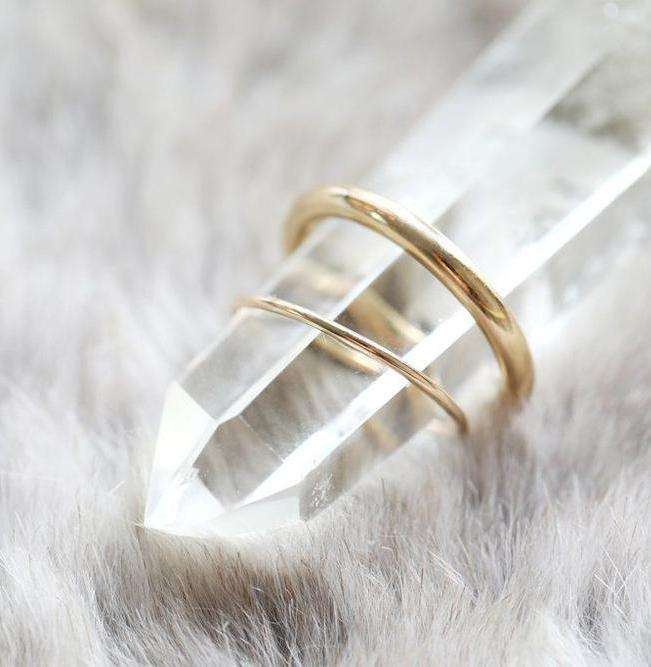 Full Round Ring Solid Gold (Ready-to-Ship)
