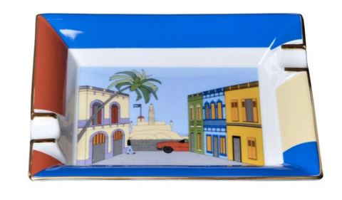 Elie Bleu Casa Cubana Ashtray