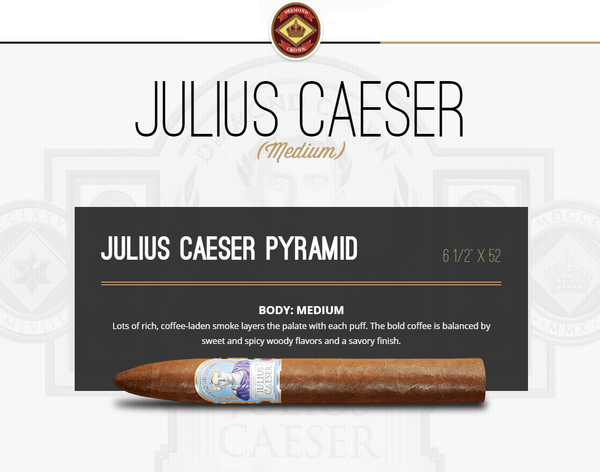 Diamond Crown Julius Caesar