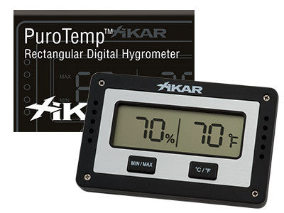 Xikar PuroTemp Digital Hygrometers
