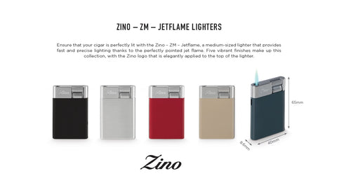 Zino ZM Jet Flame Lighters