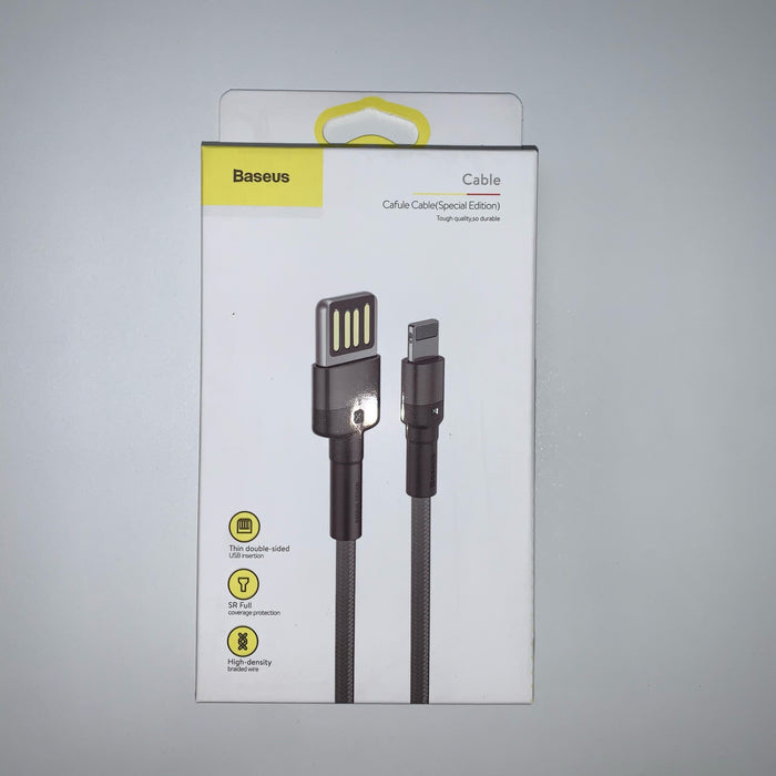 Baseus - Thin USB to Lightning - 1.5A 200cm - Black