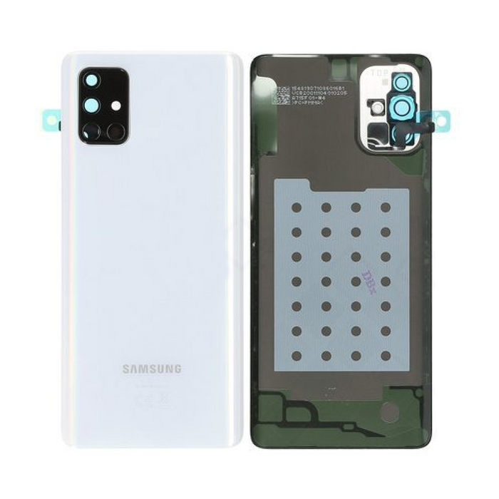 Samsung A715 / A71 Service Pack Genuine Rear Cover / Housing - Silver