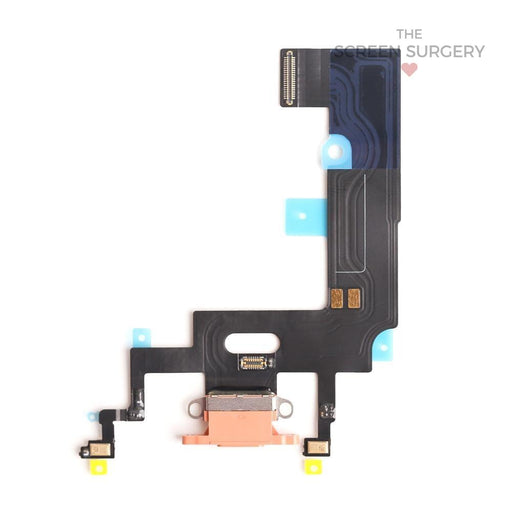 Apple Iphone Xr Charging Port Flex Cable Coral Original