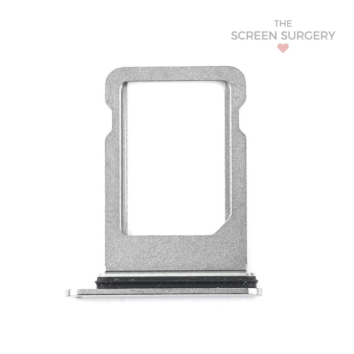 Apple Iphone Xs Max Sim Card Tray Silver Original