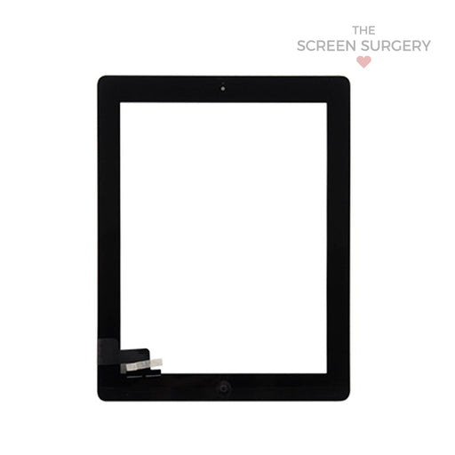 Ipad 2 Digitiser With Small Parts Oem - Black (Apple)