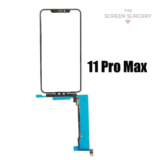 Iphone 11 Pro Max Glass - Oca And Digitiser With Ic