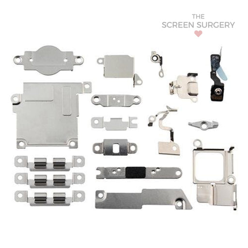 Iphone 5C Inner Metal Retaining Bracket Set (Apple)