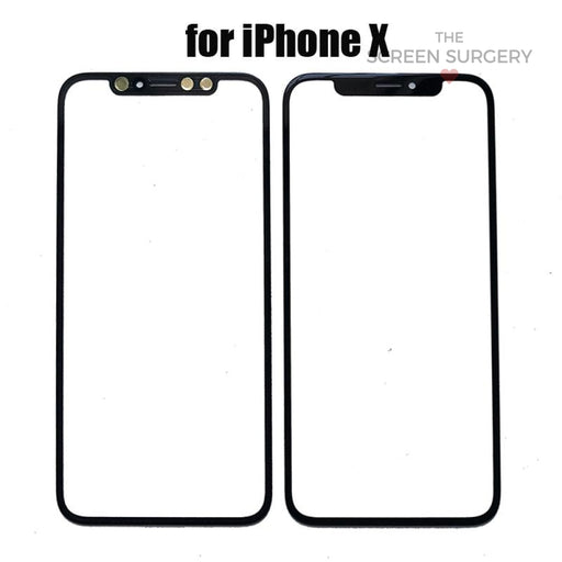 Iphone X Glass With Oca (Oem)