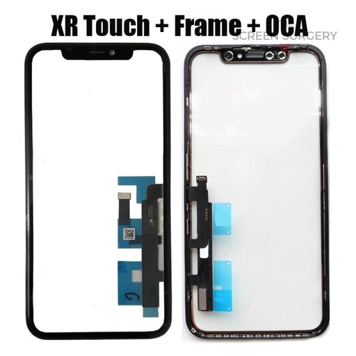 Iphone Xr Glass - Oca And Frame Digitiser Ic
