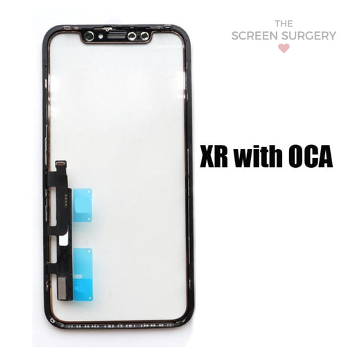 Iphone Xr Glass With Oca (Oem)