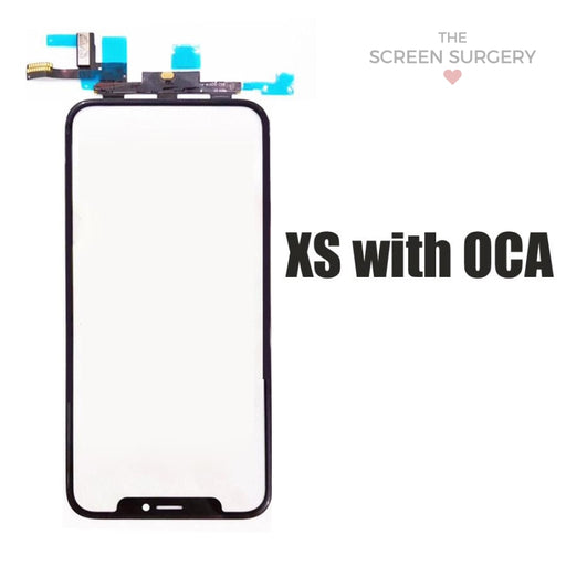 Iphone Xs Glass - Oca And Frame Digitiser Ic