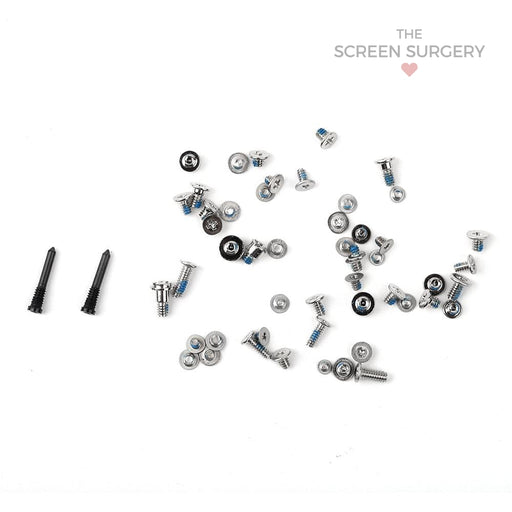 Iphone Xs Max Full Set Screws Black Original