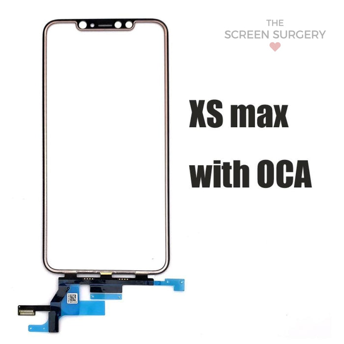 Iphone Xs Max Glass - Oca And Frame Digitiser Ic