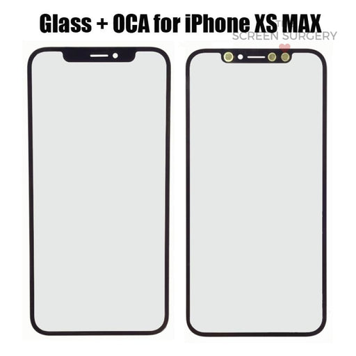 Iphone Xs Max Glass With Oca (Oem)