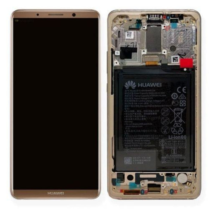 Lcd Touchscreen With Battery - Brown Huawei Mate 10 Pro