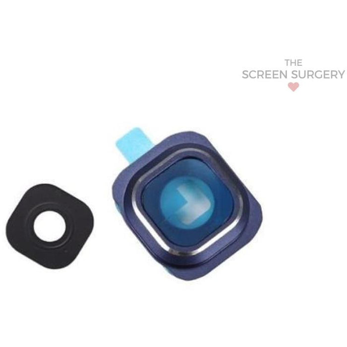 S6 G920 Camera Frame/lens - Blue (Samsung) Parts