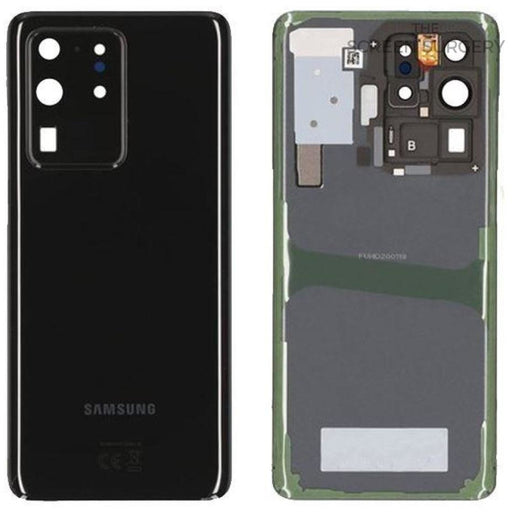 Samsung S20 Ultra (G988) - Rear Cover Service Pack Black