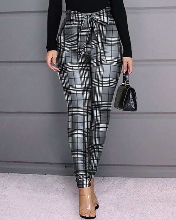 High Waist Diamond Front Split - THEGIRLSOUTFITS