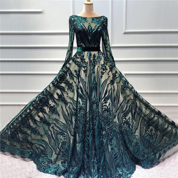 Sequined Sparkle Prom - THEGIRLSOUTFITS