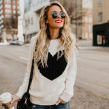 Reversible Hollow Out Knitted SweaterThegirlsoutfits
