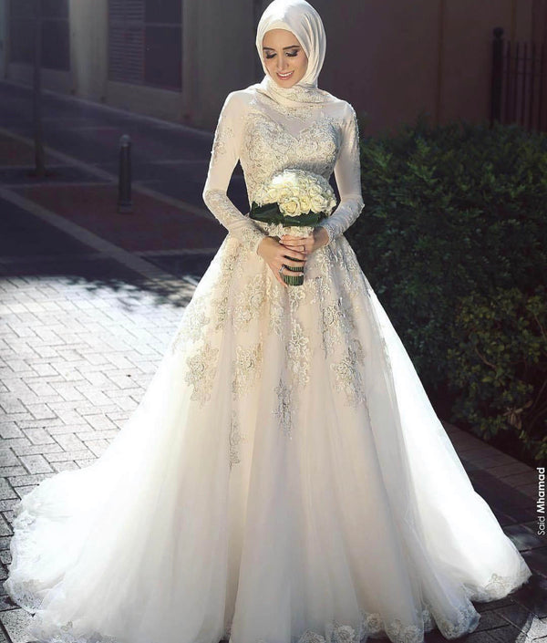 Arabic bridal gown - THEGIRLSOUTFITS