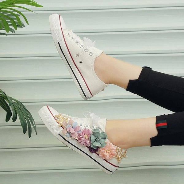 chaussures femme canvas shoes - THEGIRLSOUTFITS