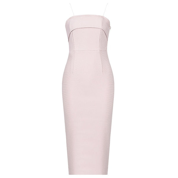 Pink Bandage Dress - THEGIRLSOUTFITS