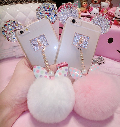 Diamond Rabbit earThegirlsoutfits
