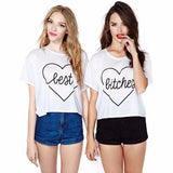 Short Sleeve Loose Cotton T ShirtThegirlsoutfits