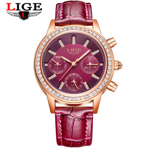 Luxury Brand Girl Quartz Watch