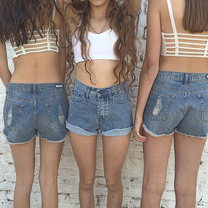 Hollow Out Cage Crop Top Harness CroppedThegirlsoutfits