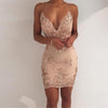 Strapless Sequined Dress - THEGIRLSOUTFITS