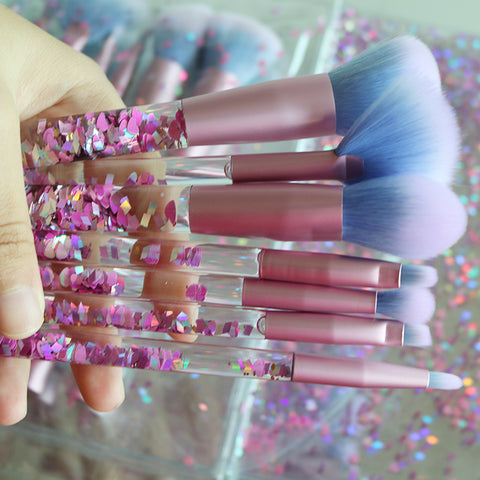 7pcs Diamond Professional BrushesThegirlsoutfits