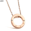 Love Circle Necklace - THEGIRLSOUTFITS