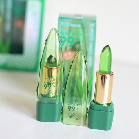 Image of Long Lasting Moisturizer Natural Aloe Gel Jelly LipstickThegirlsoutfits