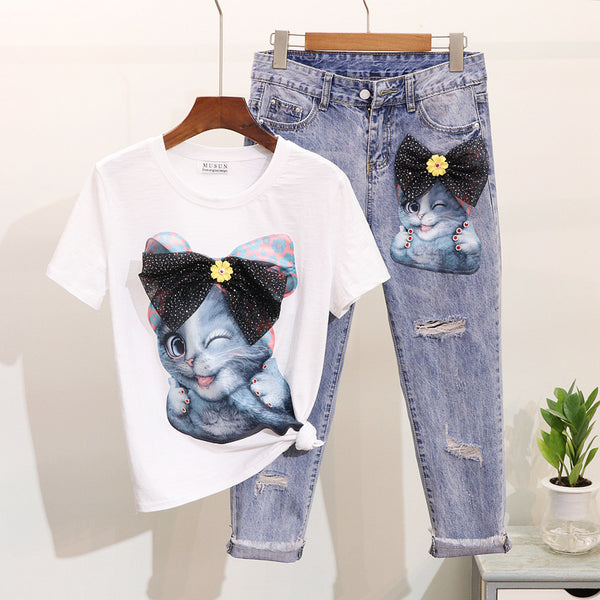 Diamond Cartoon Set - THEGIRLSOUTFITS