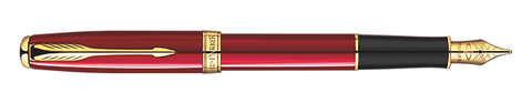 Parker Sonnet Ruby Red Lacquer Fountain Pen