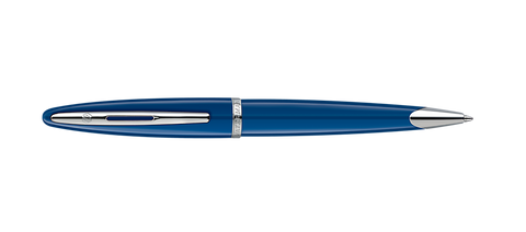 Waterman Carene Blue W/Silver Trim Ballpoint Pen