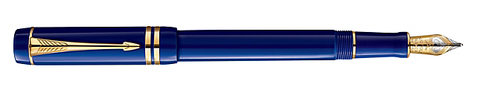 Parker Doufold Blue CT (International & Centennial) Fountain Pen