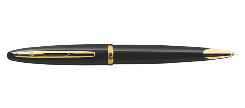 Waterman CARÈNE Black Sea Ballpoint Pen GT