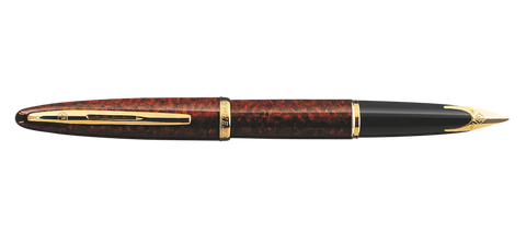 Waterman Carene Marine Amber Shimmer Fountain Pen GT