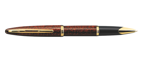 Waterman Carene Amber Shimmer Rollerball Pen