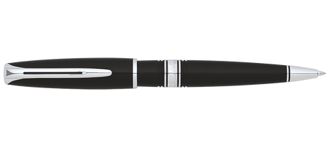 Waterman Charleston Black Ballpoint Pen ST