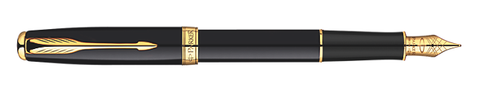 Parker Sonnet Lacquer Black/ Gold Fountain Pen