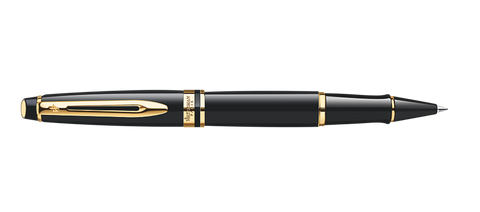 Waterman Expert Black Rollerball Pen GT
