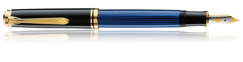 Pelikan PLK-M600 Souverän Black-Blue Fountain Pen