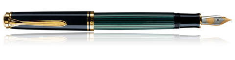 Pelikan PLK-M600 Souverän Black-Green Fountain Pen