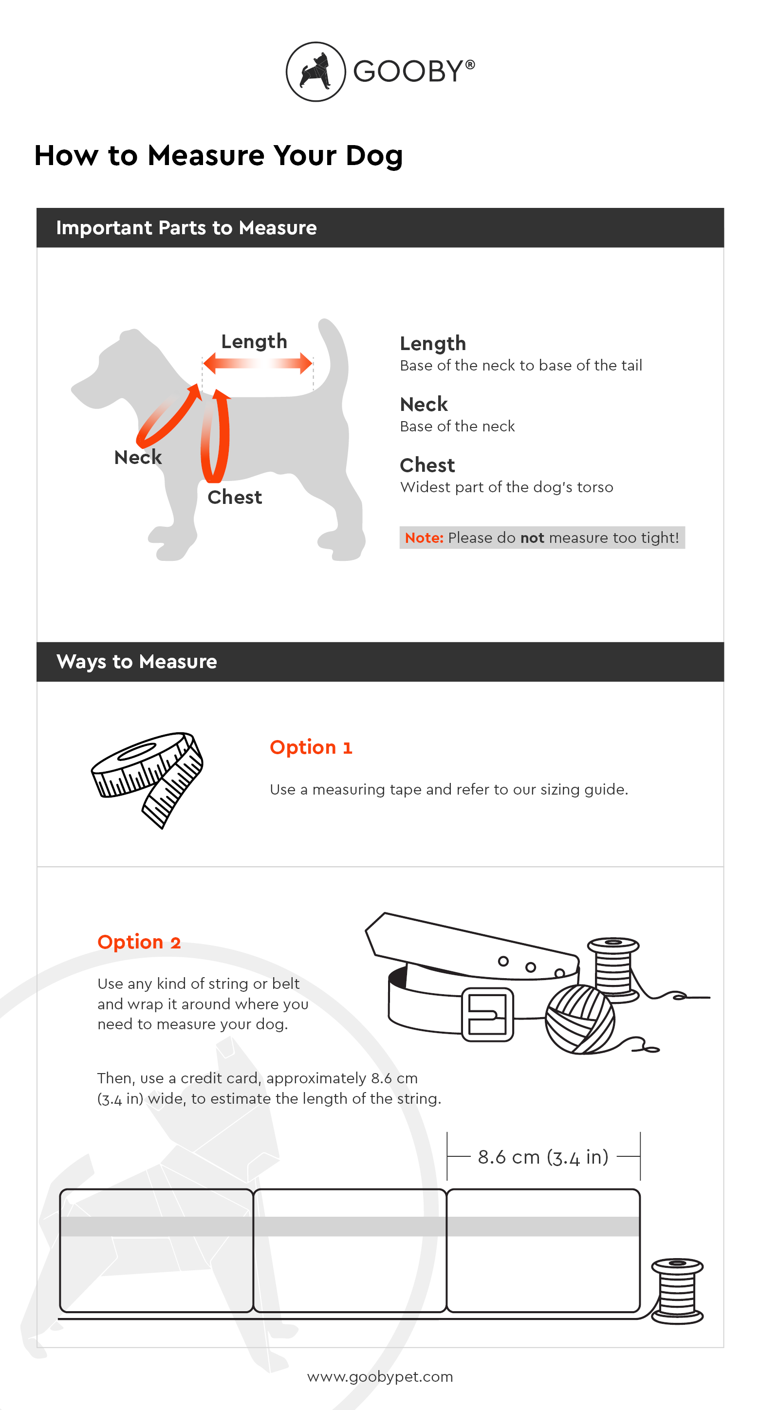 how to measure your dog for harness apparel